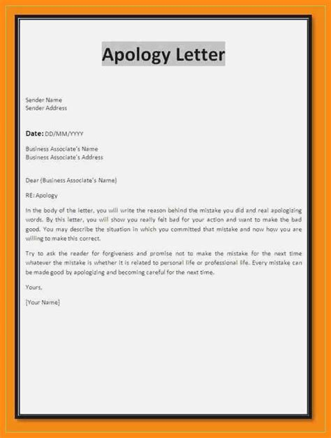 How To Write A Letter Of Explanation