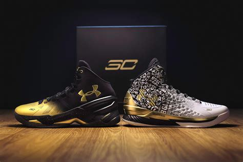 Curry 1 Curry 2 Mvp armour unveils kicks for unanimous nba mvp steph