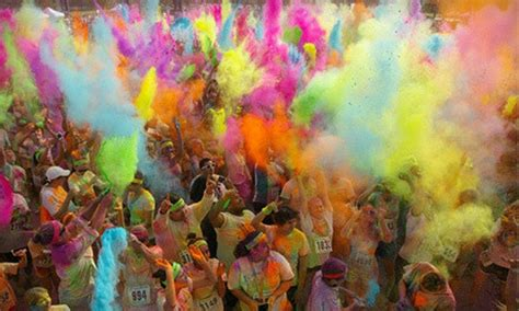 the colorful 5k graffiti run