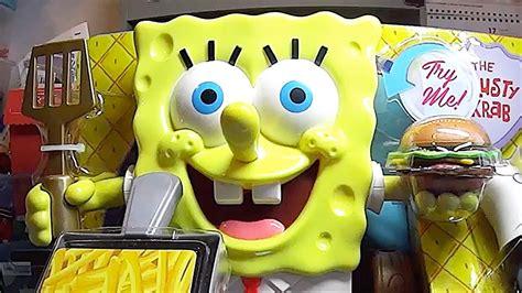 spongebob cucina spongebob apertura della cucina krabby patty con le