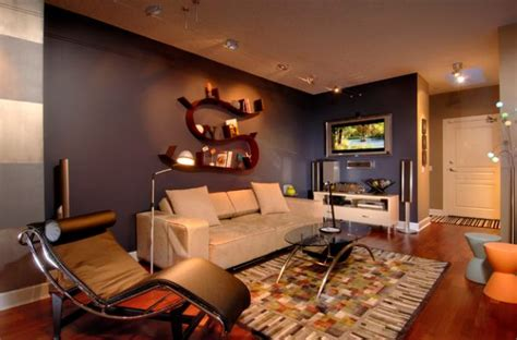 bachelor pad living room ideas lc4 chaise lounge is a wonderful seating option for the bachelor pad