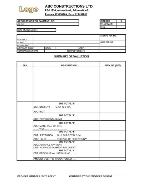 Practical Completion Certificate Template Jct by Practical Completion Certificate Template Virtren