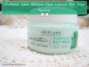 Aneka Nature Facecream Oriflame oriflame nature lotion tea tree review