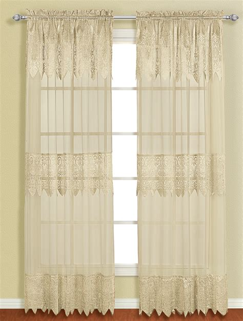 sage curtains drapes valerie rod pocket curtain with attached valance sage