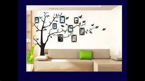 Tree Sticker Wall Art family tree wall decal youtube loving spaces