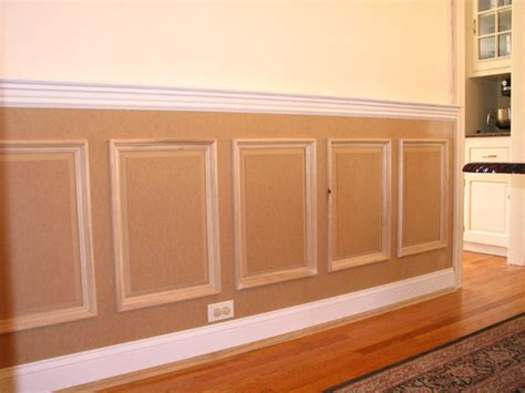 Wainscoting Panels Uk by Raised Panel Wainscoting Traditional New York By Jl