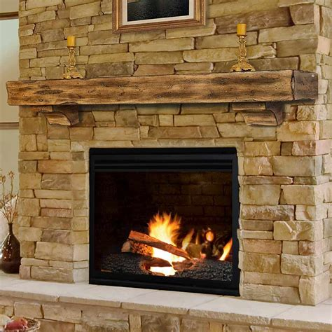 Wood Mantel On Fireplace by Wood Fireplace Mantel Shelves Fireplace Design Ideas
