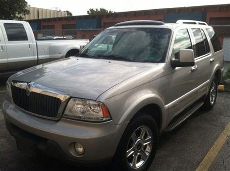 auto air conditioning service 2004 lincoln aviator seat position control purchase used 2004 lincoln aviator luxury sport utility 4 door 4 6l expedition suv family tv in