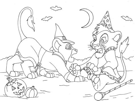 lion king 2 kovu coloring pages kiara and kovu free coloring pages
