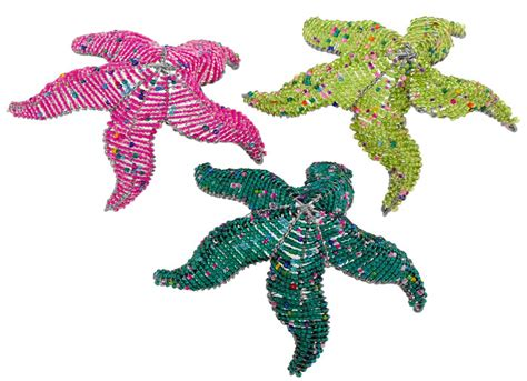 bead and wire animals wow imports beaded wire animal figurine starfish