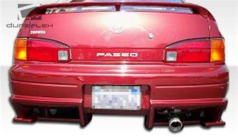 1992 Toyota Rear Bumper 1992 1995 Toyota Paseo Duraflex Bomber Rear Bumper Cover