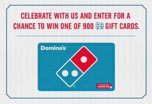 Dominos Giveaway - dominos giveaway enter to win 900 gift card giveaway ftm