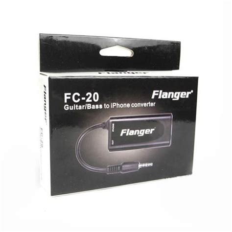 Flanger Guitar Interface Adapter For Iphone Ipod Touch Fc T30 3 flanger guitar interface adapter for iphone ipod touch