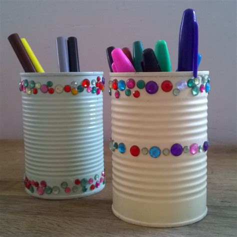 recycled crafts get creative with your recycle bin week 2 tins hey ali