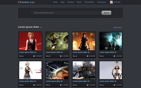 bootstrap templates for movies clgt tube a professional media template bootstrap stage