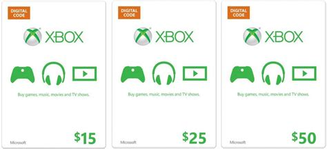Buy Digital Amazon Gift Card - best buy xbox live with amazon gift card for you cke gift cards