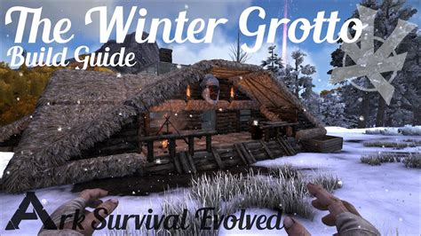 Log Cabin House Designs by The Winter Grotto Build Guide Ark Survival Evolved