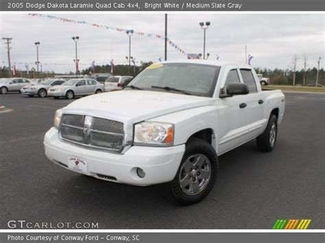 2005 dodge dakota cab bright white 2005 dodge dakota laramie cab 4x4