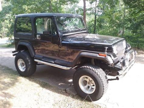 Jeep Wrangler V8 1989 Jeep Wrangler V8 Custom For Sale Jeep Wrangler Jeep