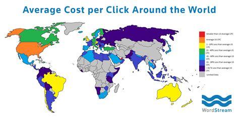 adsense cpc by country в каких странах самая высокая цена за клик по adsense