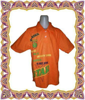 Baju Anak Merk Domino krah sablon obralanbaju obral baju pakaian murah