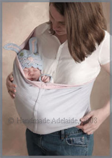 Handmade Baby Sling - crochet slings pattern crochet patterns only
