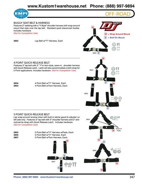 shoulder harness seat belt installation offroad 4 and 5 point seat belt harness with release