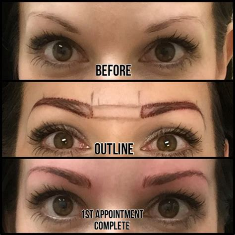 tattoo eyebrows at home semi permanent makeup costa blanca fay blog