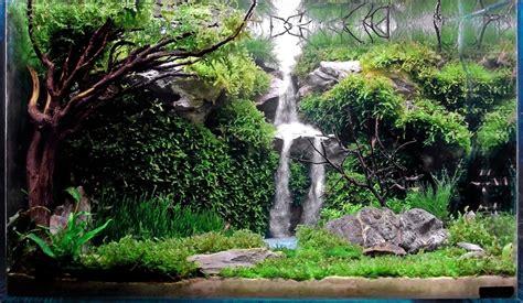 aquascaping waterfalls