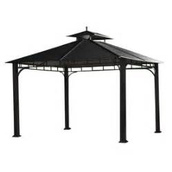 Allen Roth Metal Top Gazebo by Allen Roth 121 26 In X 121 26 In X 10 24 Ft Aluminum