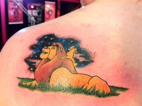 mufasa tattoo mufasa and simba tattoos