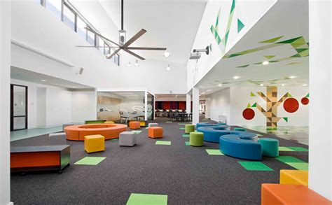 Modern School Interior Design by Modern Schools Interior With A Splash Of Color Interior