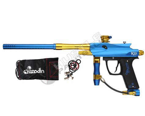 Kaos Bravo Blue azodin kd ii mechanical paintball marker blue king