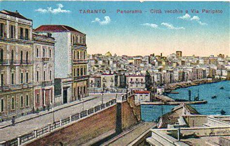 ufficio postale taranto cartoline d epoca di taranto