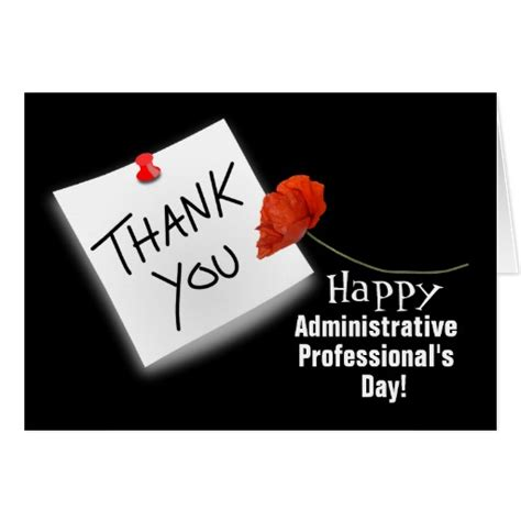 Administrative Day Card Template happy administrative professionals day cards photo card