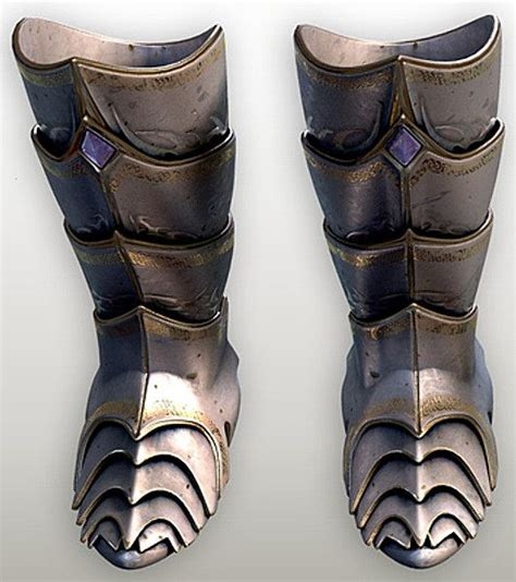 armor slippers armored boots armor reference models