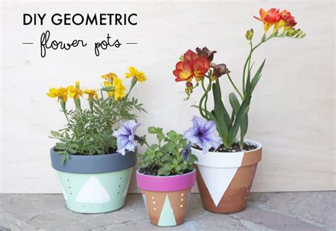 homemade flower pots diy spring flower pots little red window
