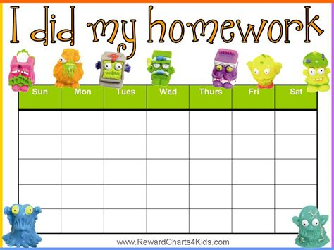 printable reward charts for school homework reward chart abc s 123 s learning