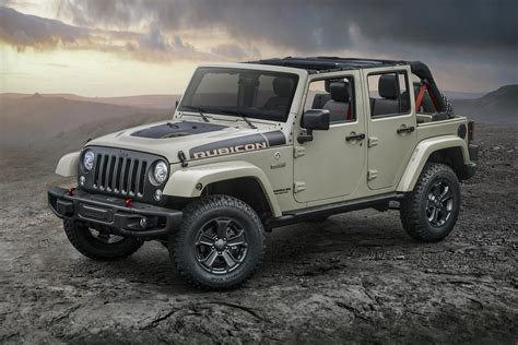 Jeep Future Lineup by Jeep Adds Wrangler Rubicon Recon Edition To Lineup