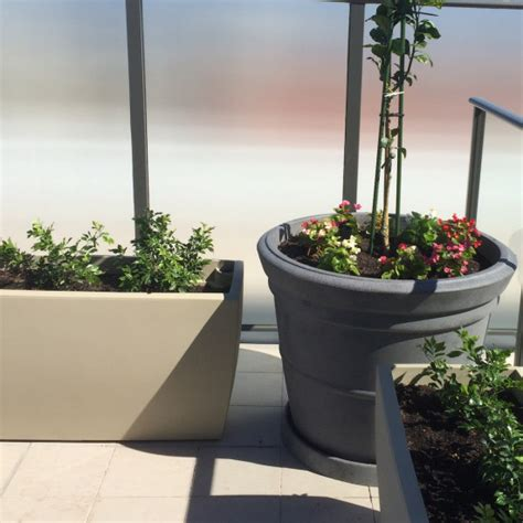 Office Herb Garden by Corporate Balcony Herb Gardens Eco Green Office Plants