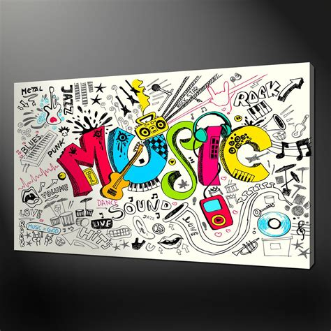 Musical Notes Wall Stickers music wall art uk awesome metal music wall art uk wall