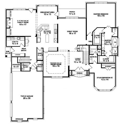 Single Family House Plans 6 Bedroom Single Family House Plans House Plan Details