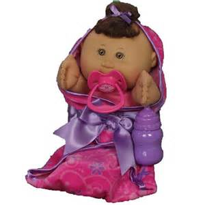 Cabbage patch kids quot wrapped in love quot newborn hispanic with pink