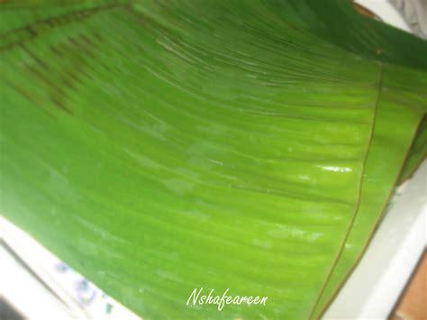 nasi lemak daun pisang nshafeareen