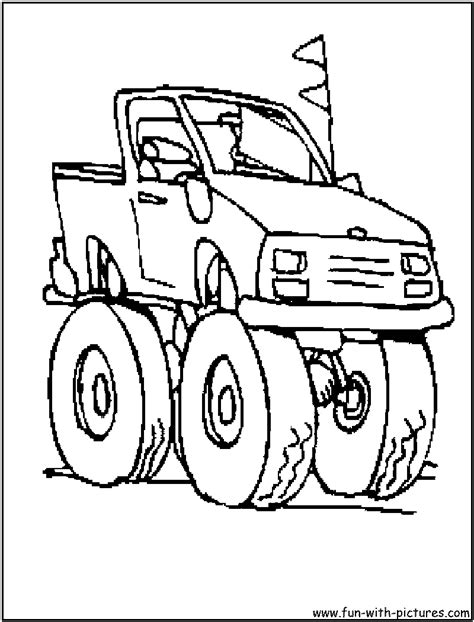 little monster truck videos monster truck coloring pages free page site memes
