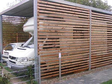 carport selbst gebaut carport selbst bauen wohnmobil wohnwagenform
