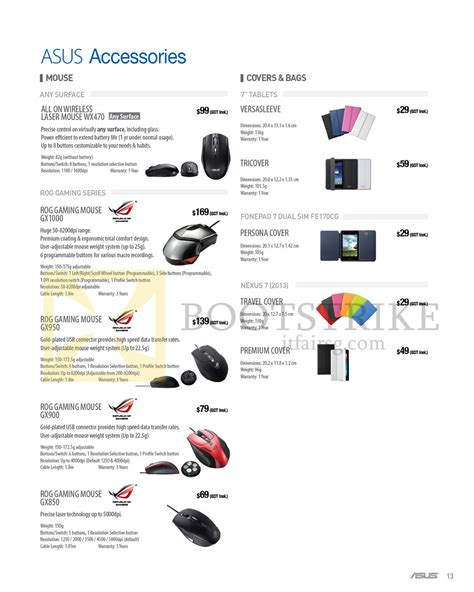 Asus K451ln Wx154h asus accessories mouse covers bags wx470 gx1000 gx950