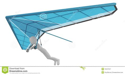flying with a delta 3d with delta plane flying royalty free stock photography image 16247047