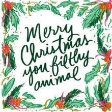 merry christmas ya filthy animal gifs tenor