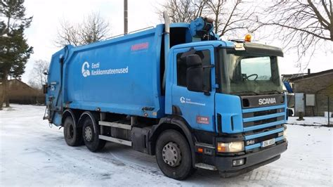 used scania p94 garbage trucks recycling trucks year